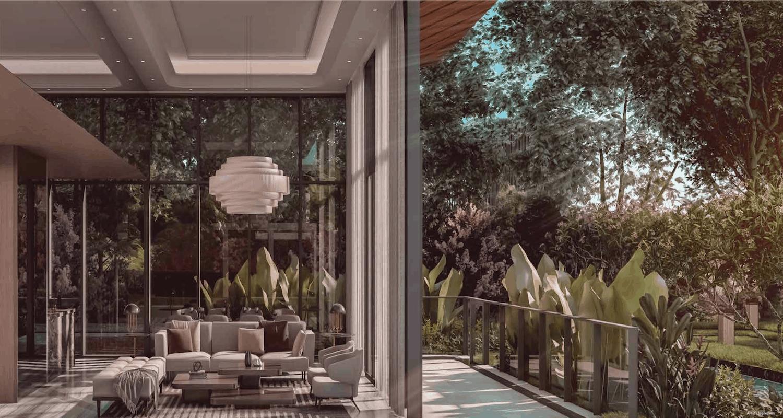 Leedon Green Artist Impression Garden View Slider