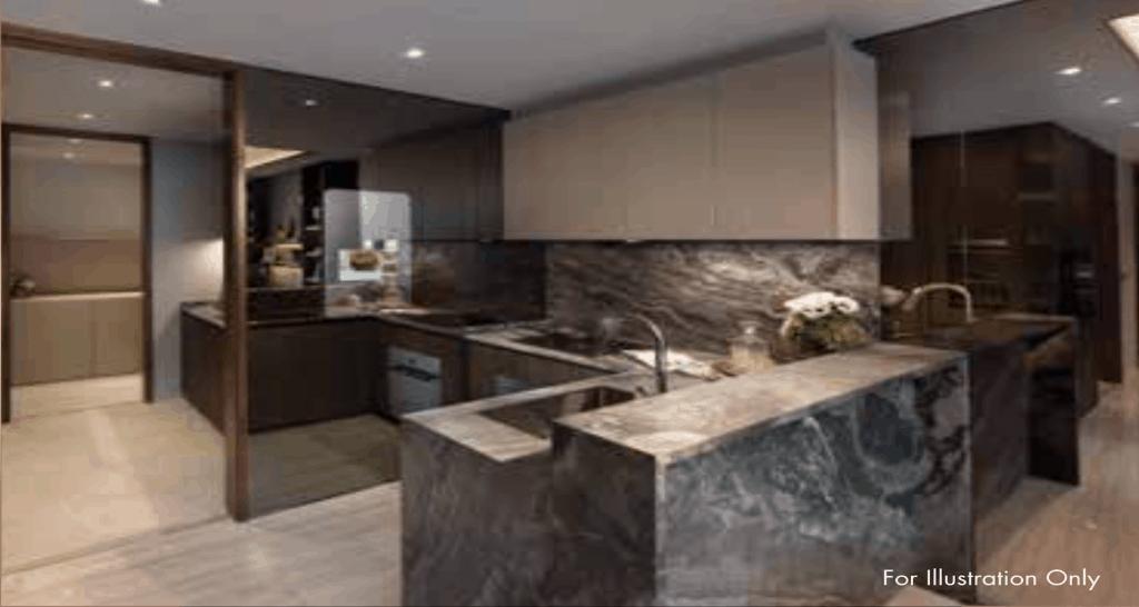 Leedon Green Artist Impression Kitchen