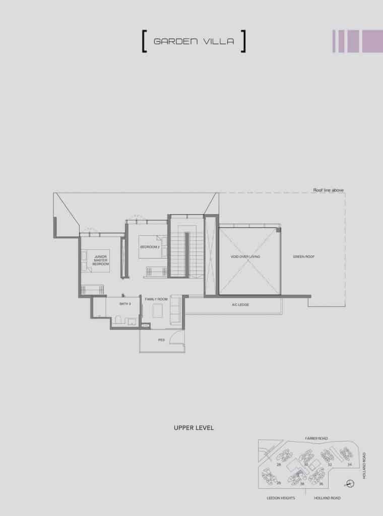 Leedon Green Floor Plan Type E3 Upper Level