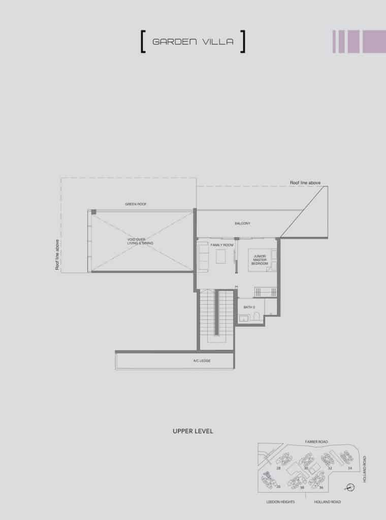 Leedon Green Floor Plan Type E4 Upper Level