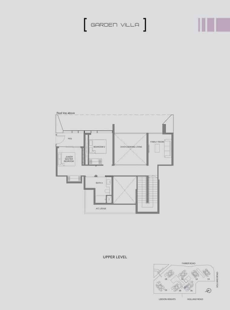 Leedon Green Floor Plan Type E5 Upper Level