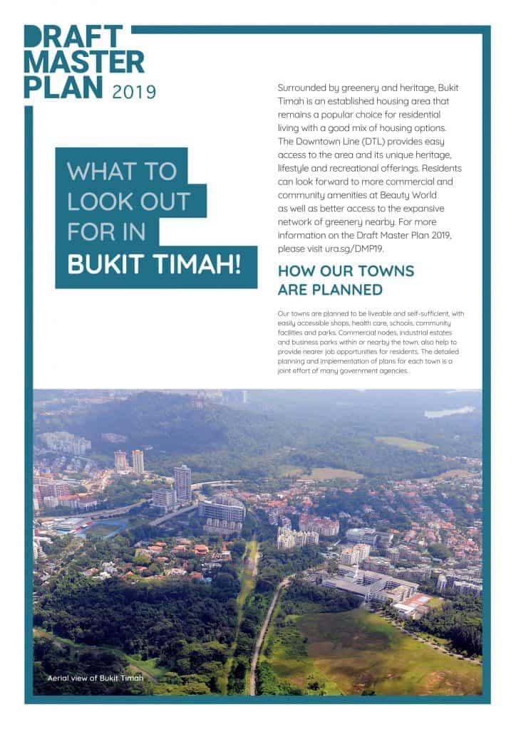 Leedon Green URA Master Plan - Bukit Timah
