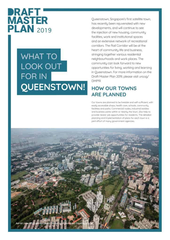 Leedon Green URA Master Plan - Queenstown