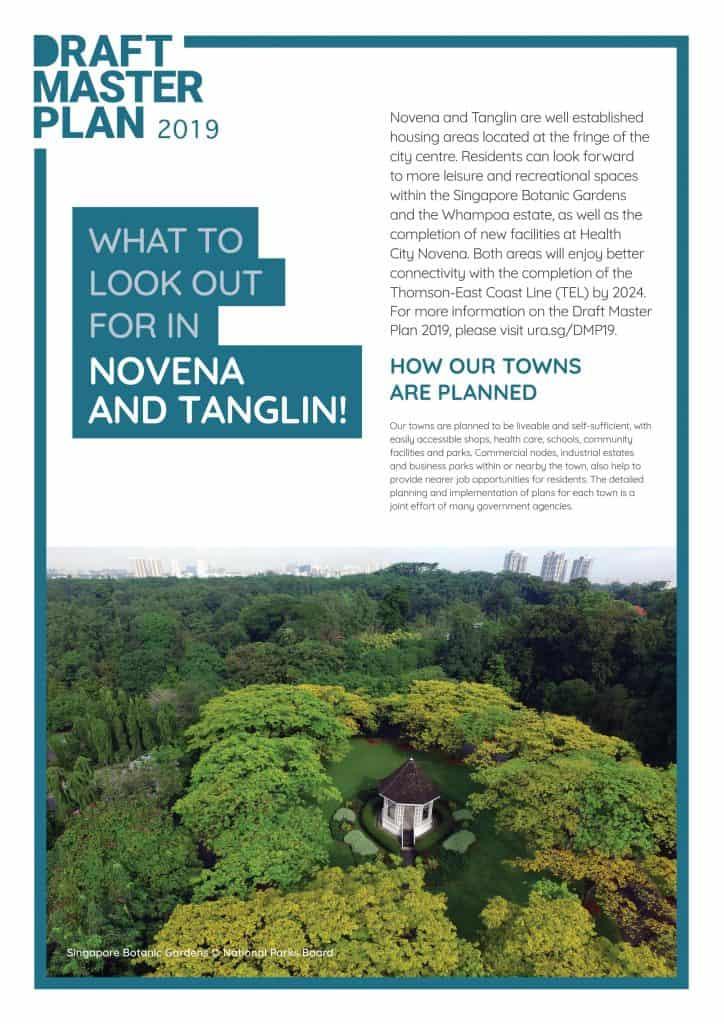 Leedon Green URA Master Plan - Tanglin