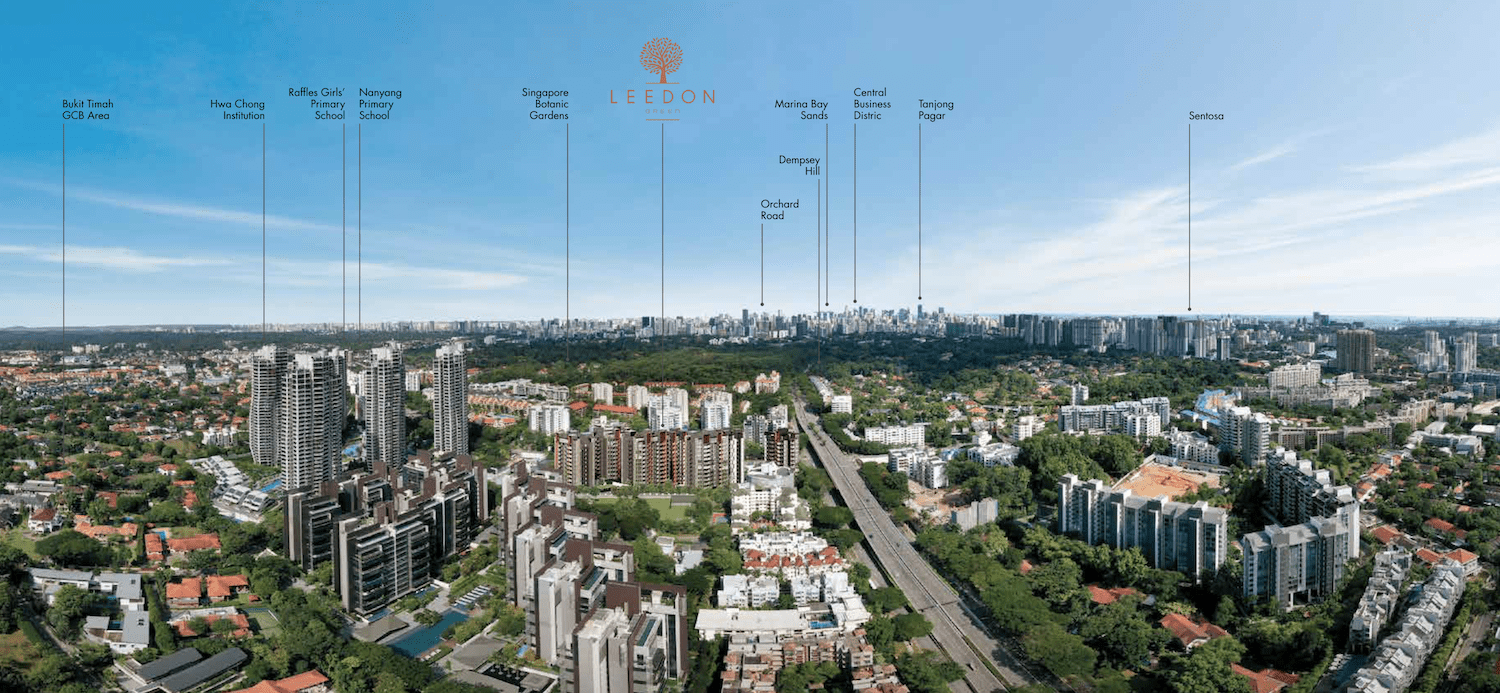 Leedon Green Aerial View
