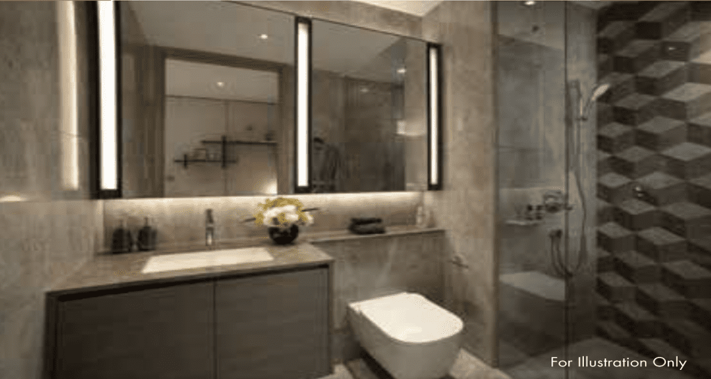 Leedon Green Artist Impression Bathroom