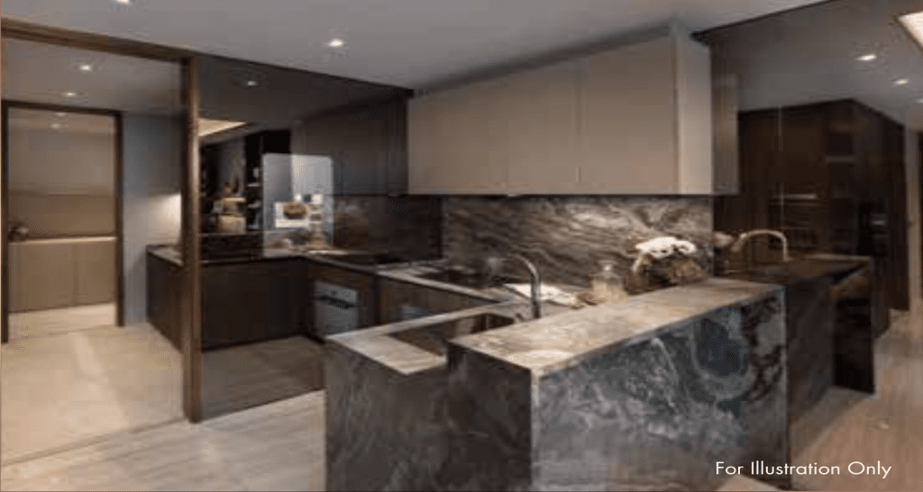 Leedon Green Artist Impression Kitchen