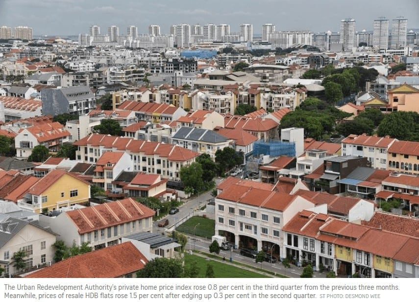 Read more about the article HDB resales hit a 10-year high in Q3 as prices surge