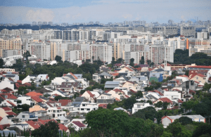 Singapore private home price
