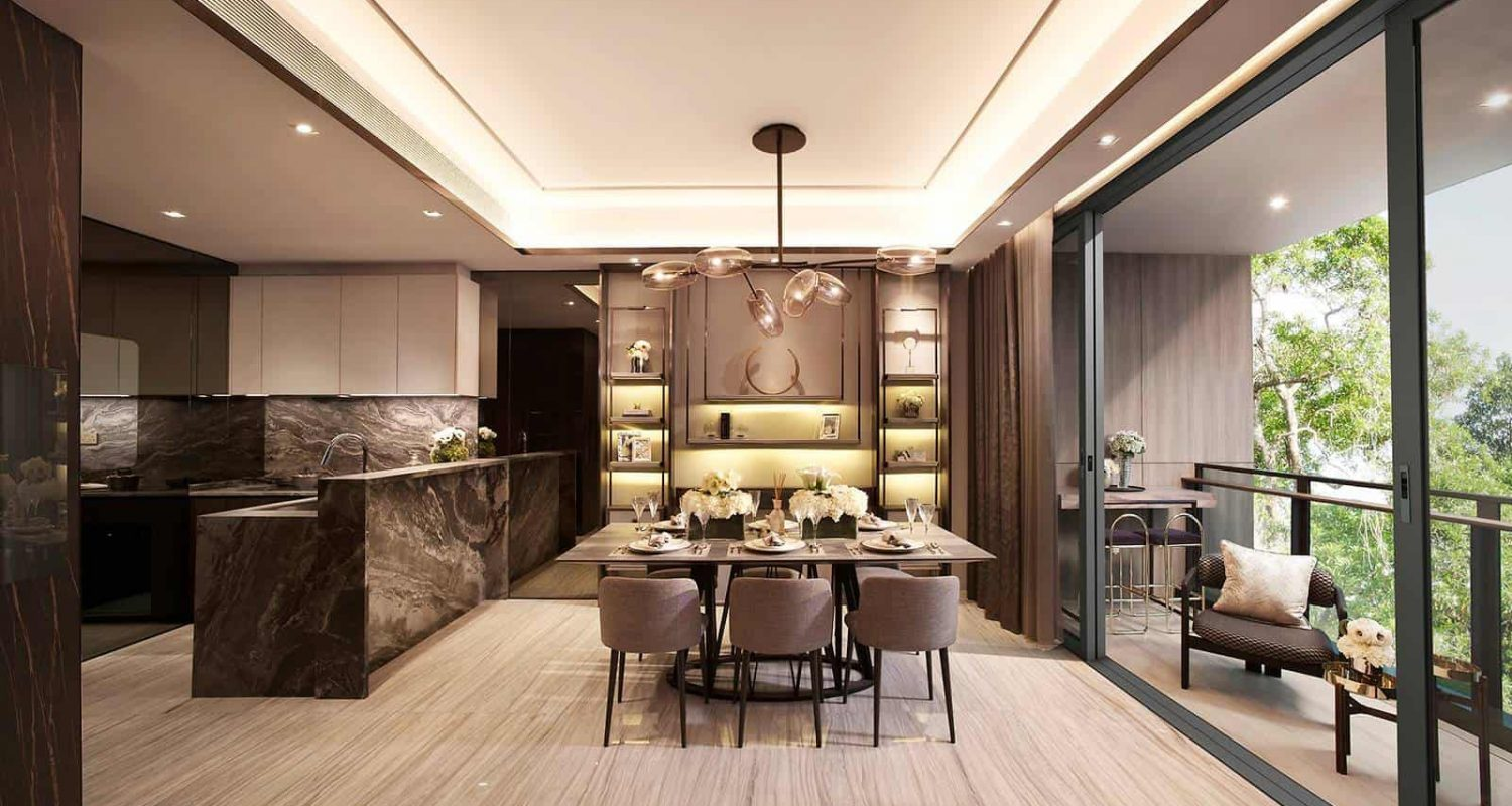 Leedon Green Artist Impression Dining Room